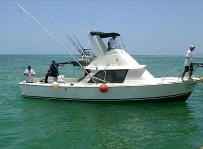 Cancun Fishing Boat
