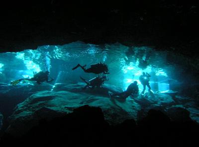Cavern Diving Cancun