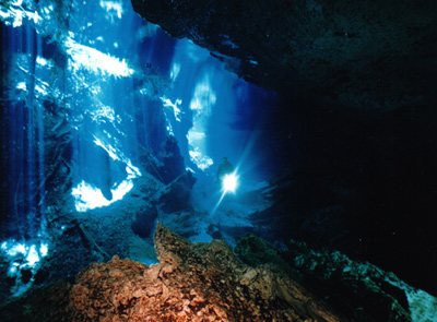 Cenote and Cavern Diving Cancun