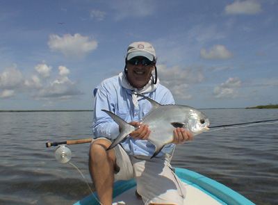 Fly Fishing in Isla Blanca Cancun